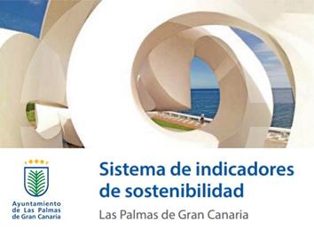 Portada sistema de indicadores de sostenibilidad. Las Palmas de Gran Canaria